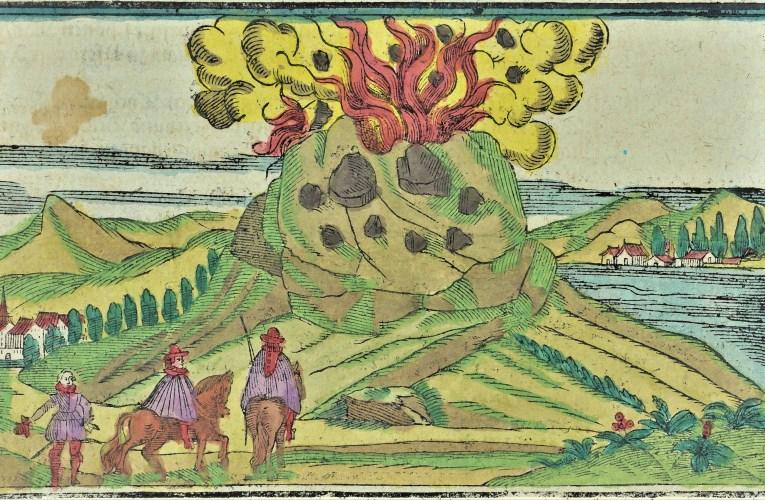 Le eruzioni di epoca storica dell'Etna