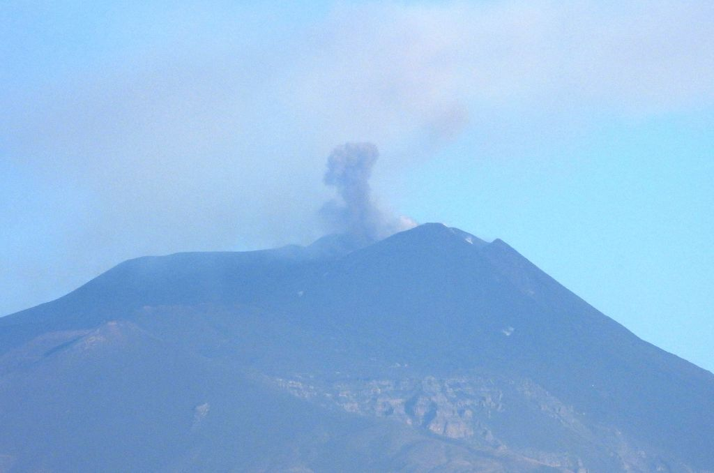 settimo parossismo Etna