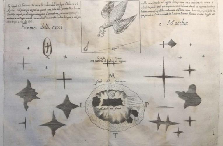 """L'augite del Vesuvio e le """"misteriose"""" croci apparse nel 1660"""