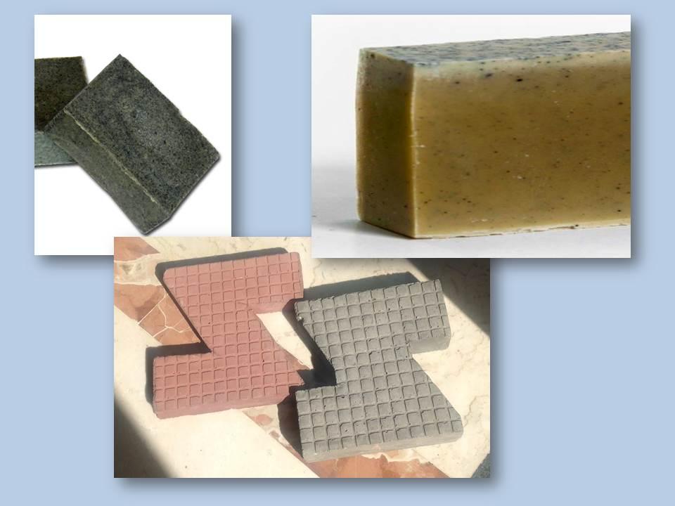 uso alternativo cenere vulcanica - come esfoliante o come componente di materila laterizio