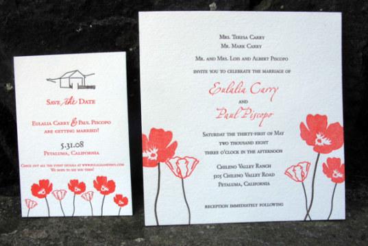 Green Wedding Guide Eco Friendly Invitations