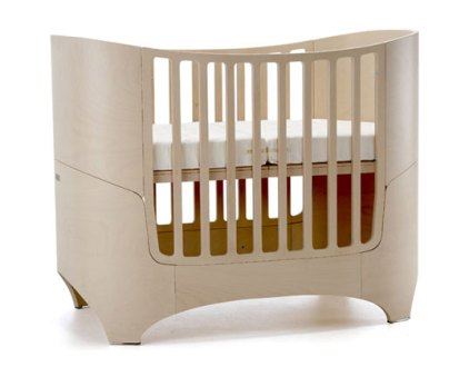 Leander Convertible Crib is Five Beds in One   Inhabitots Displaying ad for 5 seconds