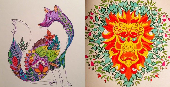 Unleash Your Inner Child With Johanna Basfords Coloring