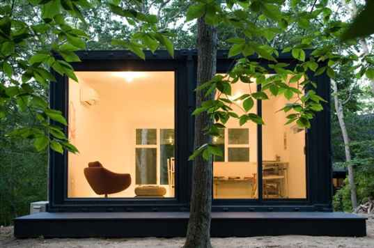 art studio, studio, office space, shipping containers, shipping container architecture, MB Architecture, Maziar Behrooz, new york, sustainable building, recycled materials, daylighting, green design, green building, eco design