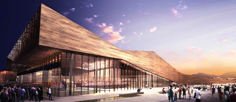 Aquatic Center in China