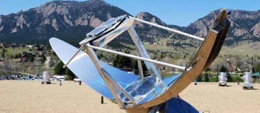 Sundolier Sunlight Collector, sunlight transport device, solar lighting device, solar indoor lighting, solar collector, solar tracker