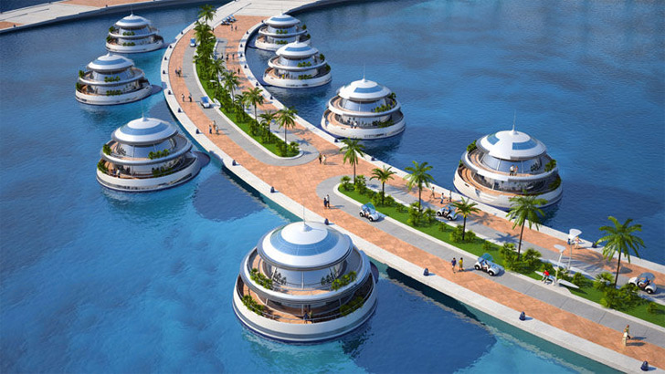 Qatar Artificial Island