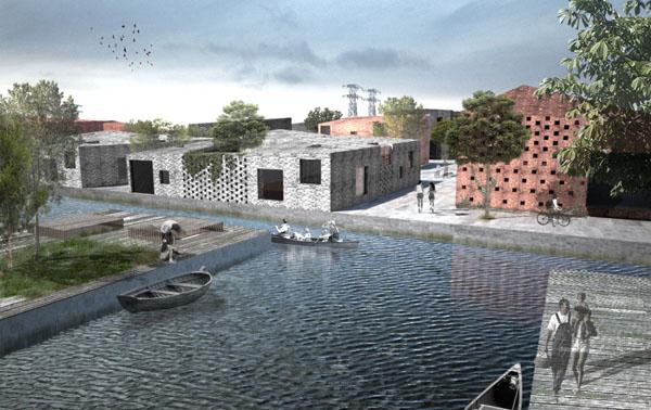 Netherlands Leeuwarden Housing Plan