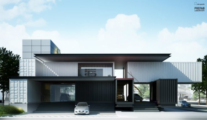 Mazda Shipping Container Car Dealership–Site Specific