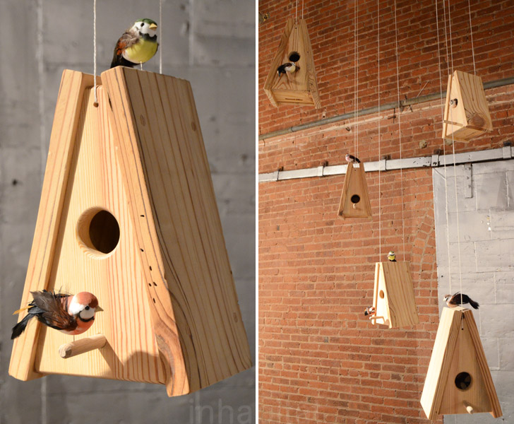 The Best Green Designs From Wanted Design 2012! Birdhouses