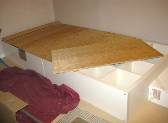 Diy How To Make Your Own Storage Bed Using A Repurposed