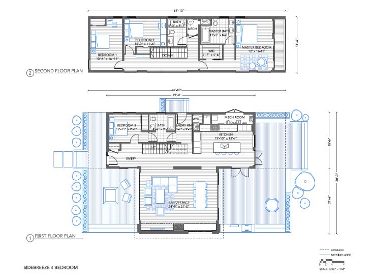 Breeze House Floor Plans