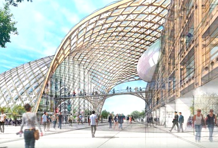 Shigeru Ban Unveils Plans For Timber Swatch And Omega Headquarters In Switzerland Inhabitat