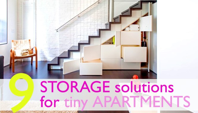 9 Clever Storage Solutions For Small Es