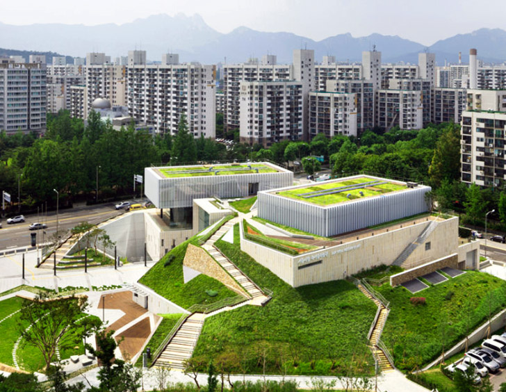 Garden Topped Buk Seoul Museum Of Art Is A Green Cultural