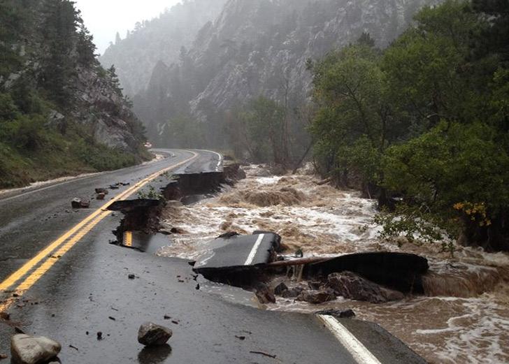 PHOTOS Massive Flooding Shuts Down Entire Region Of