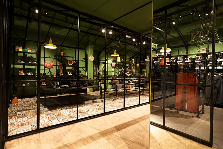 Leafy Concept Fashion Store By King George Gives Belgians