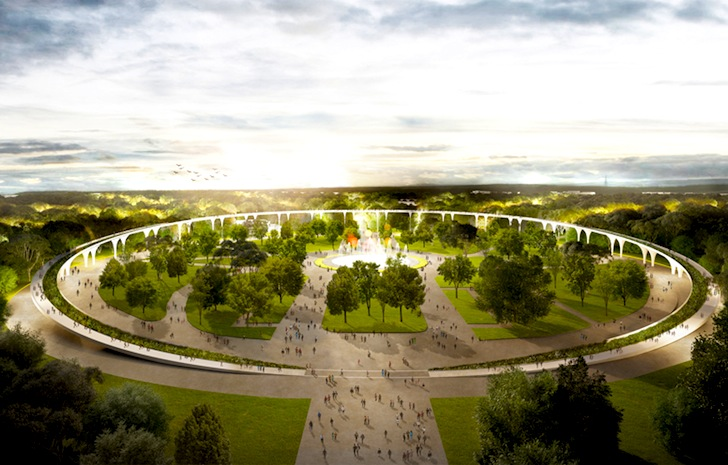 LOLA Landscape Architects Win Third Place In Moscows