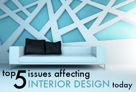Interior design environmental issues for Architectural design problems