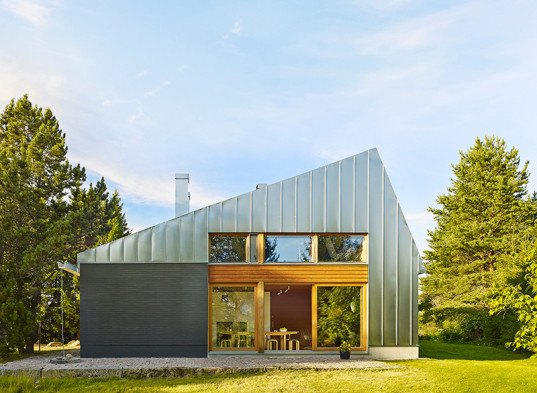 Metal Clad House L Is A Contemporary Holiday Retreat In