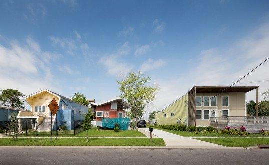 brad pitt, make it right, new orleans, lower 9th ward, hurricane katrina, solar power, resilient design, tiny house, k+10, fyi tiny house