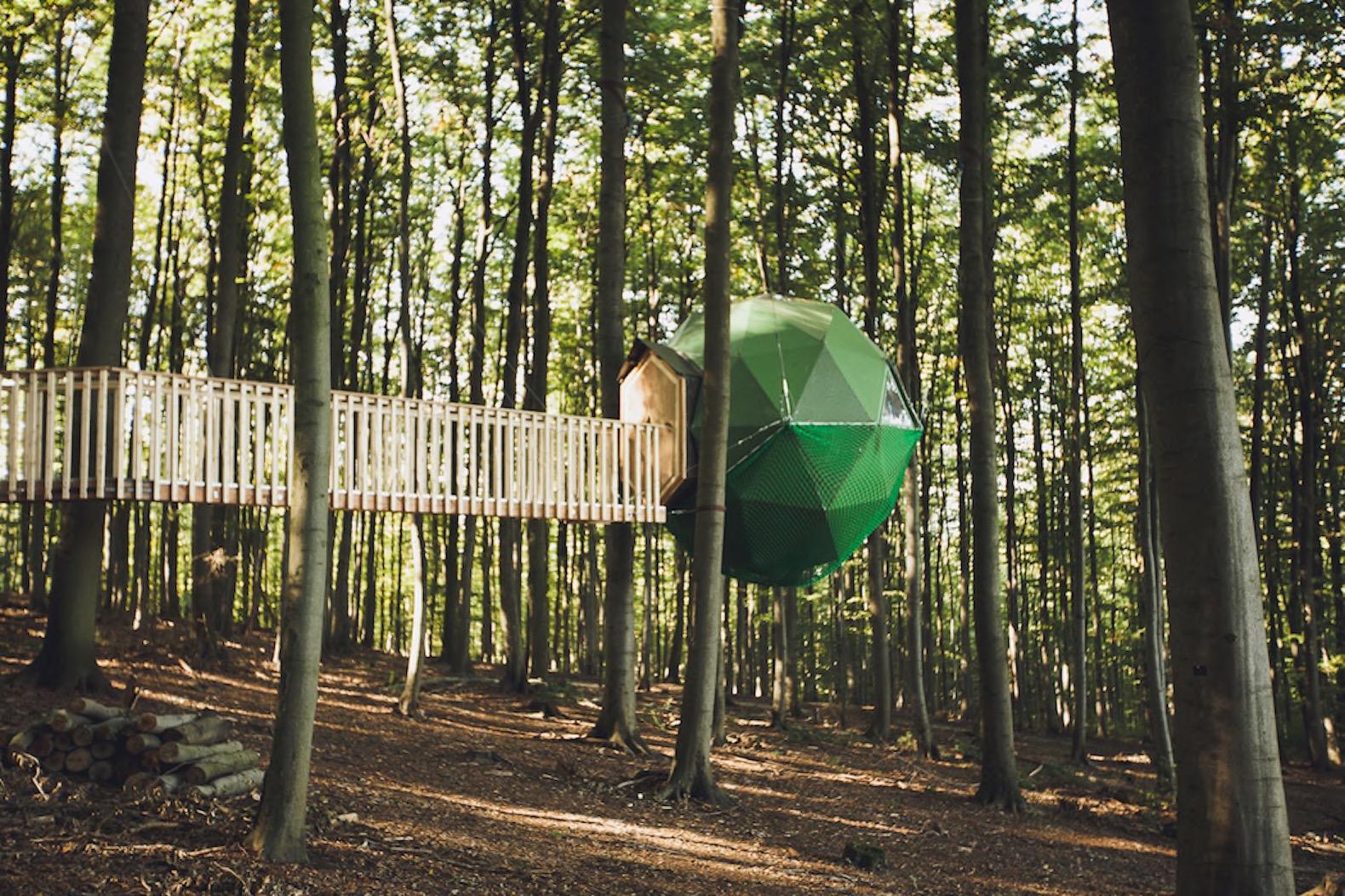 Treehouse Inhabitat Green Design Innovation
