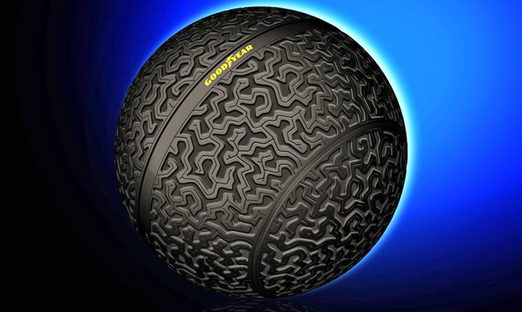Goodyears Crazy New Spherical Tires Prove Moving Sideways