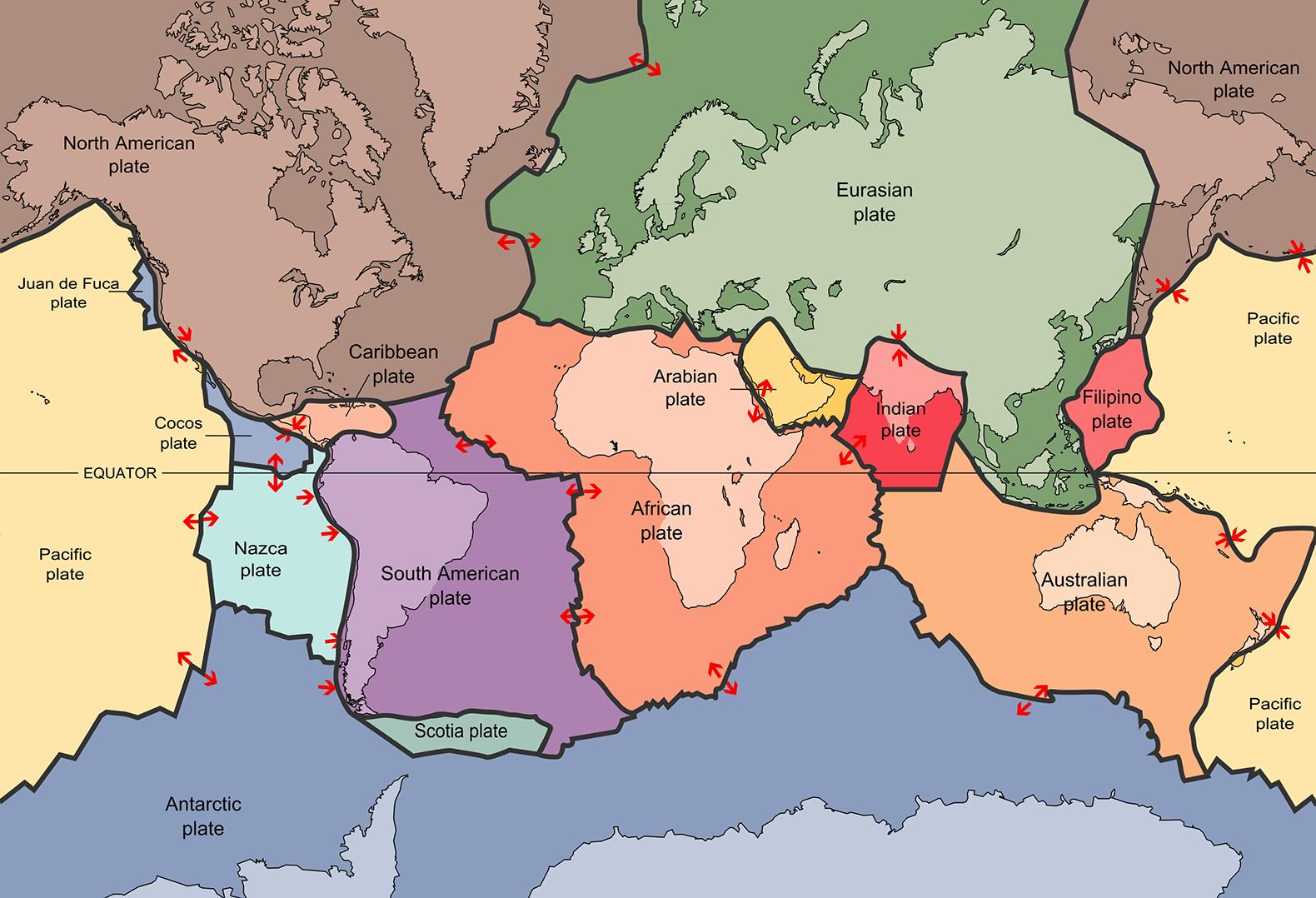 Plate Tectonics Inhabitat