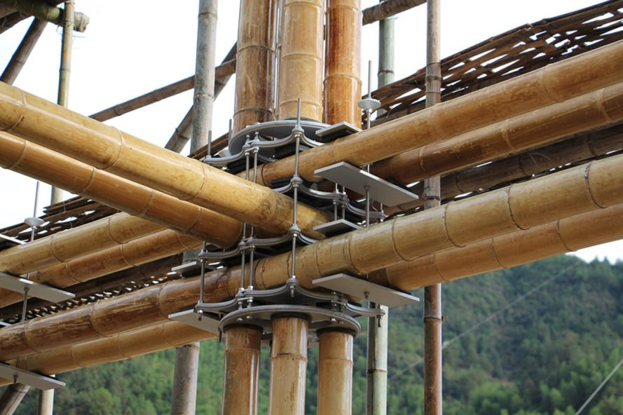 Longquan International Bamboo Commune, Energy Efficient Bamboo House, Energy Efficient Bamboo House in Longquan International Bamboo Commune, Energy Efficient Bamboo House by Studio Cardenas, sustainable architecture in China, eco-friendly bamboo construction