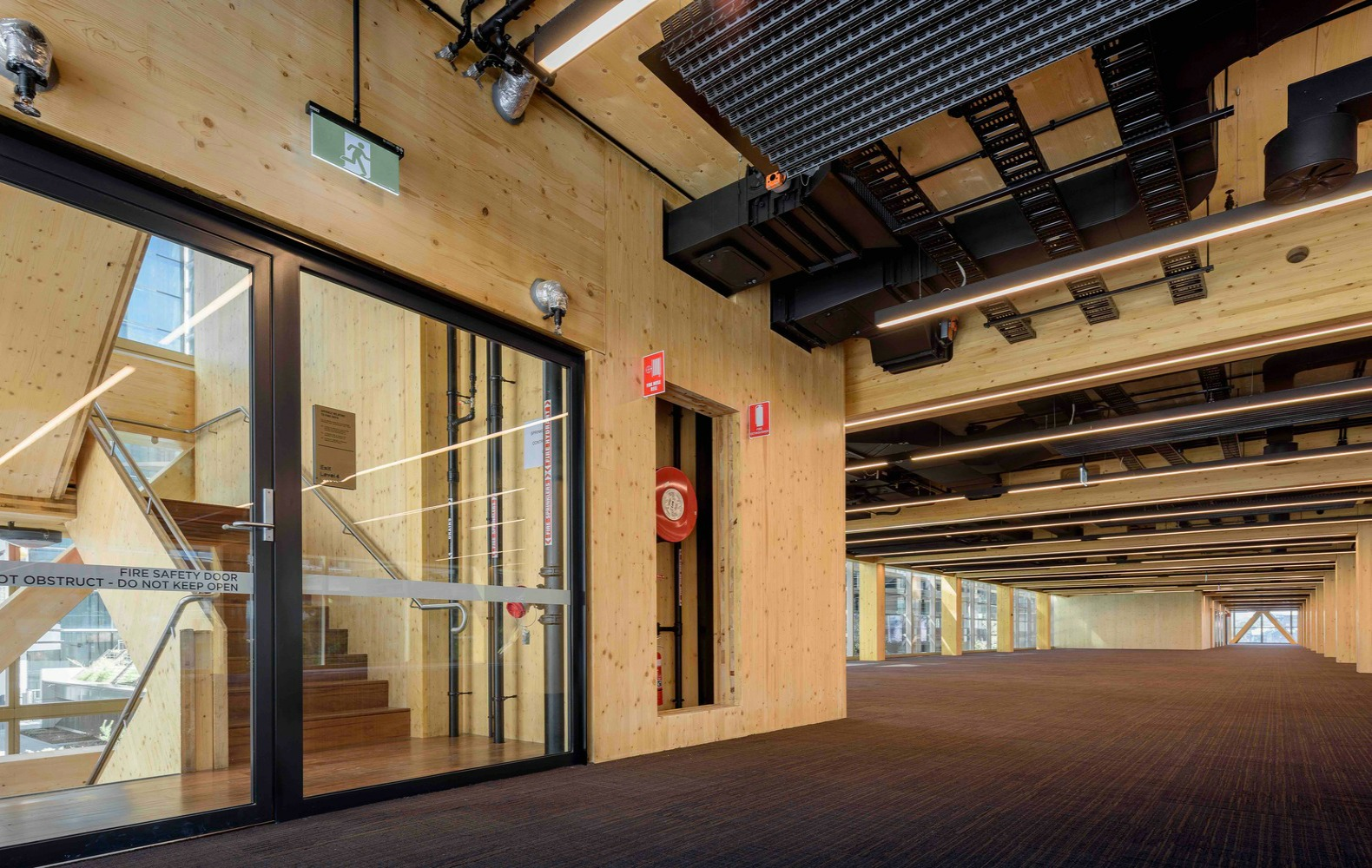 Australias Largest Commercial Timber Building Rises In