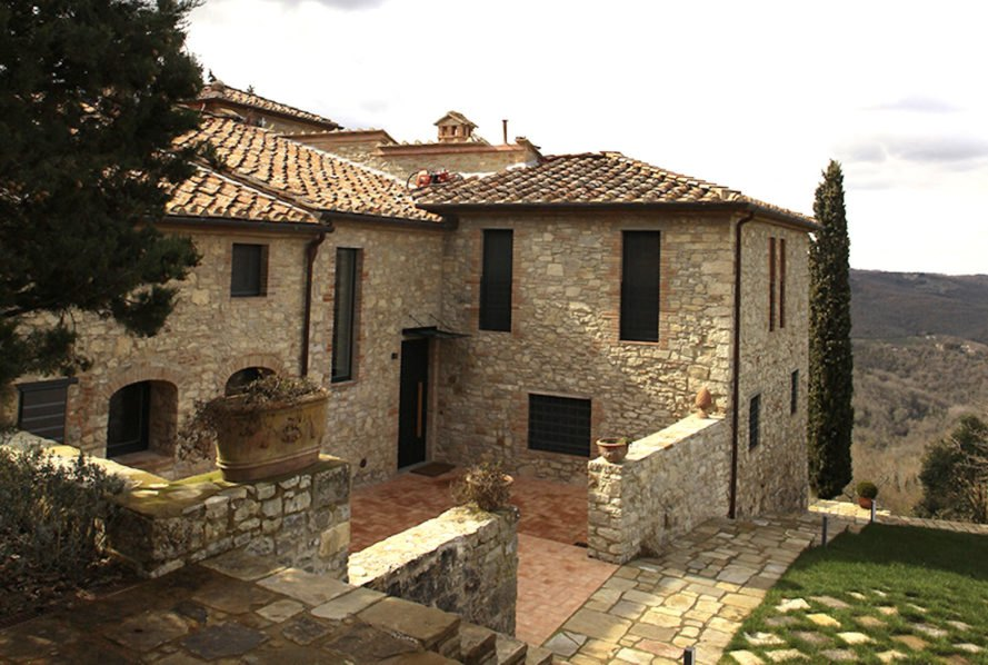 Charming Italian Farmhouse Hides A Surprisingly Modern