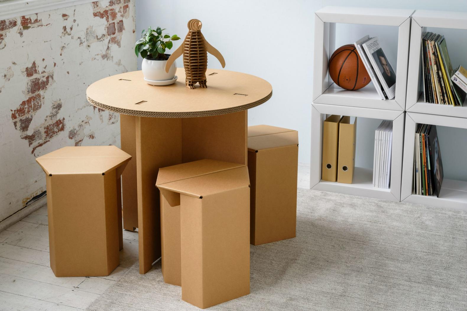 Karton Creates Ultra-durable Cardboard Furniture For Every