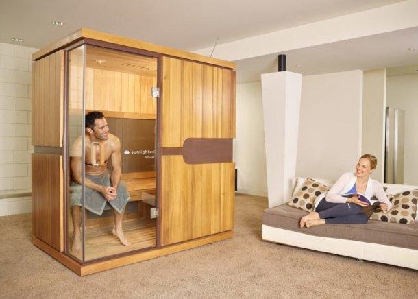 Sunlighten, infrared saunas, saunas, sustainably harvested wood, green design, healthy lifestyle, patented design, energy efficient design