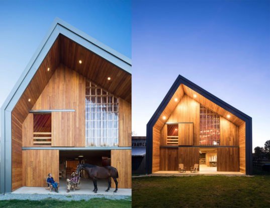 Traditional Barn Raising Techniques Bring A Modern Cost