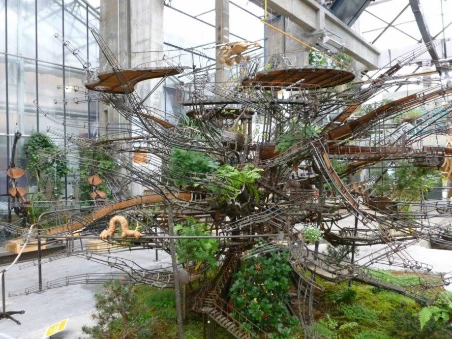 Les Machines De Lu0027ile, The Heron Tree Project, Hanging Gardens Of Babylon