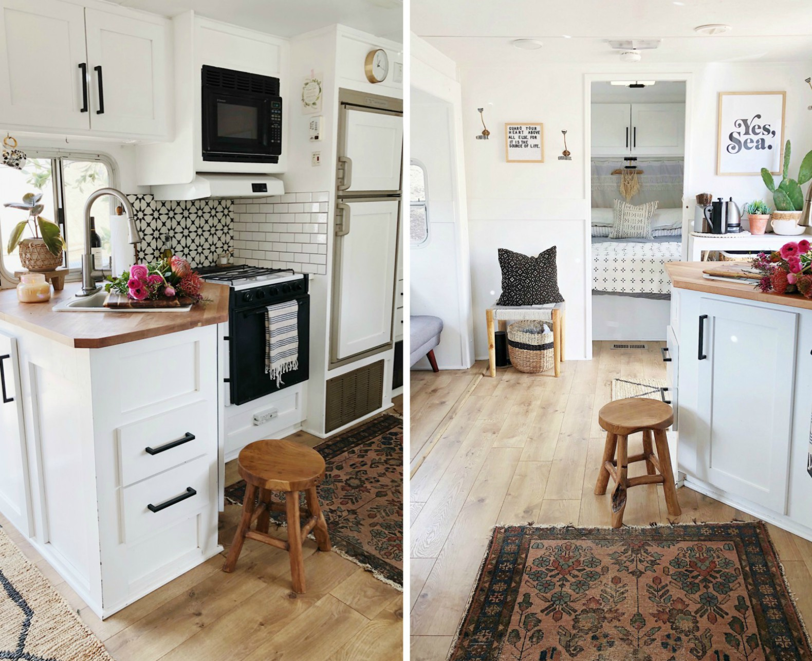 Couple Spends Just 3k To Convert An Old Camper Van Into
