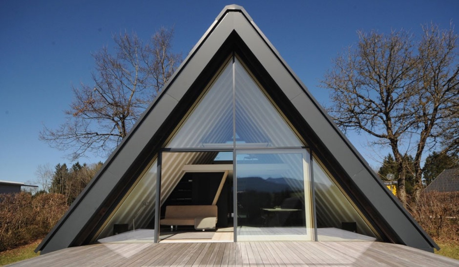 Escape To The Bavarian Alps In A Charming A Frame That Produces Surplus Energy