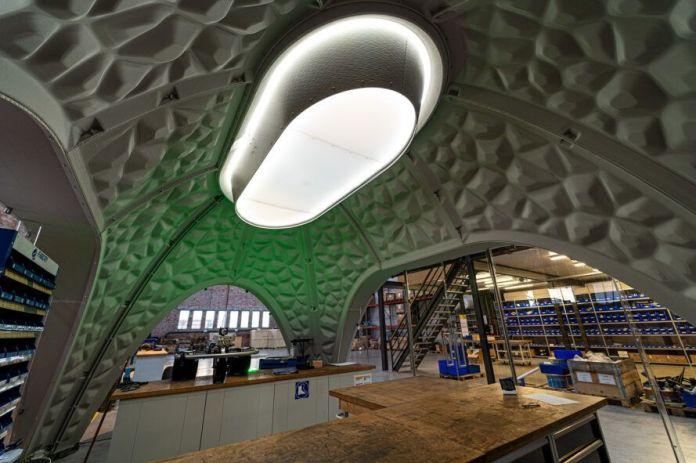 skylight inside pavilion