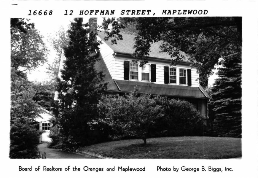 Maplewood Memorial Library Digital Archive SOMa NJ