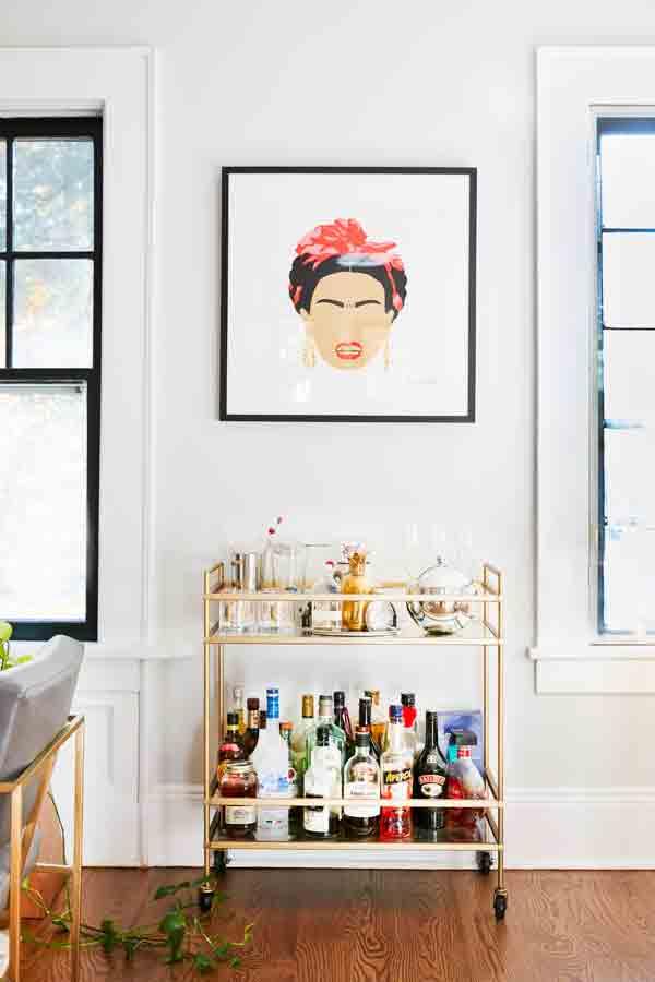Modern Frida Kahlo painting