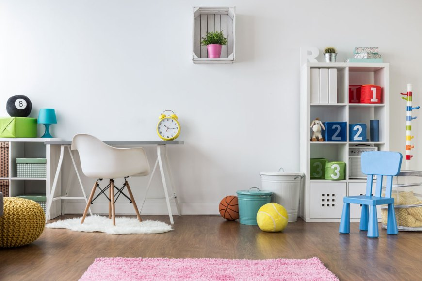 Staging home to sell playroom