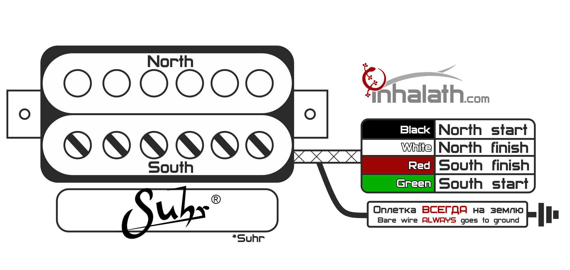 Carvin Humbucker Wiring Diagram