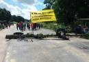 Protesto de indígenas interdita trecho da BR-101 em Joaquim Gomes, AL