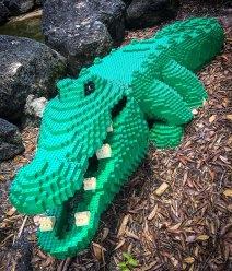 LEGO gator Photo by Edward Main