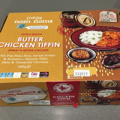 Butter Chicken Tiffin