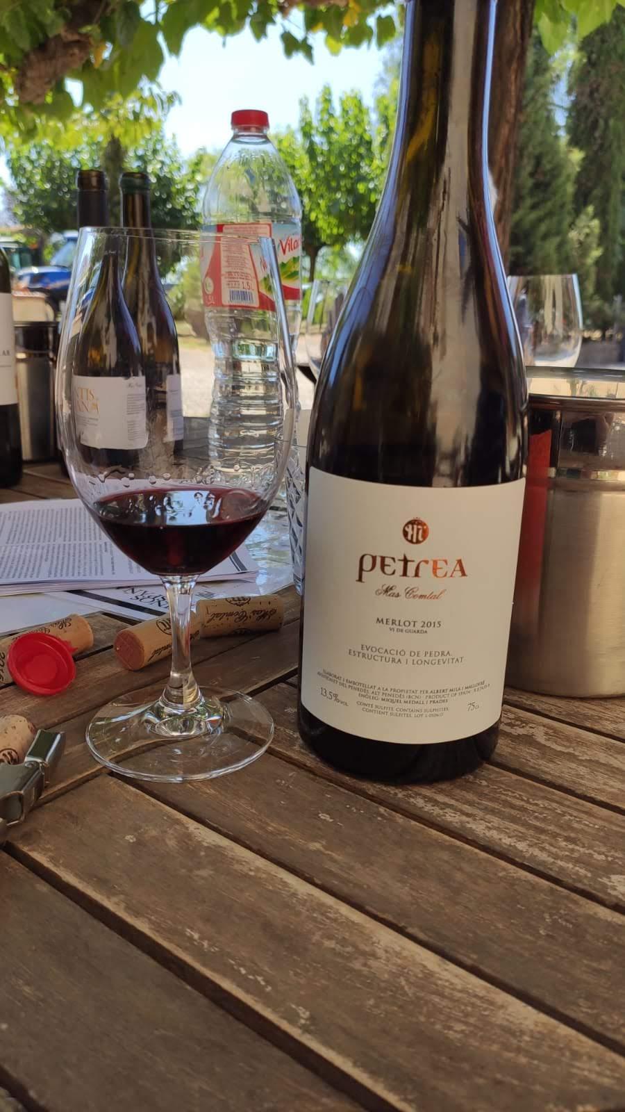Petrea Merlot rode wijn