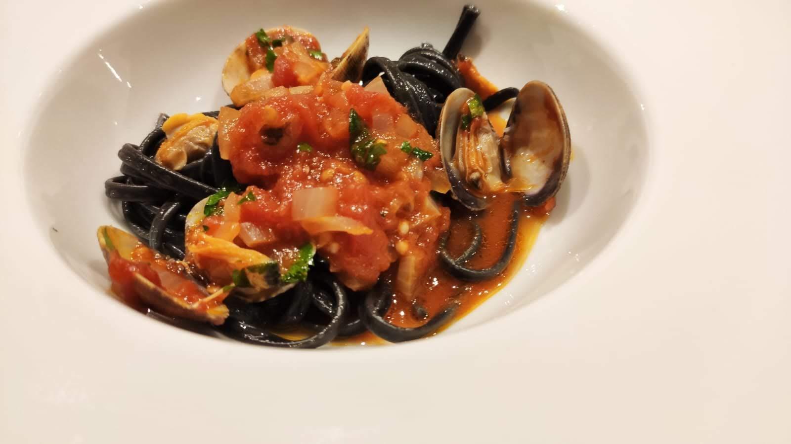 Recept pasta vongole