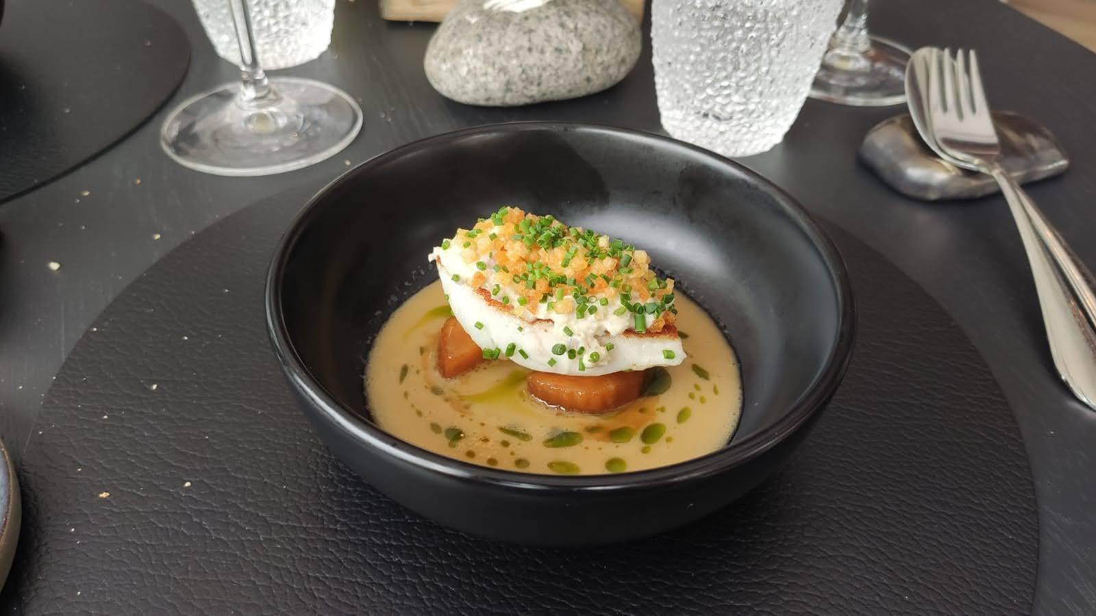 Restaurant De Burgemeester - Tarbot en paling