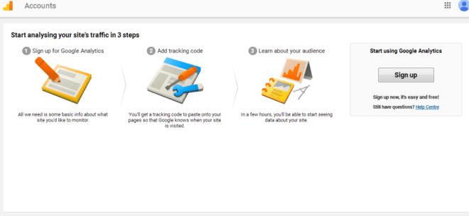 how to add google analytics to website