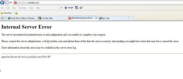 500 Internal Server Error क्या है और इसे Fix कैसे करें?